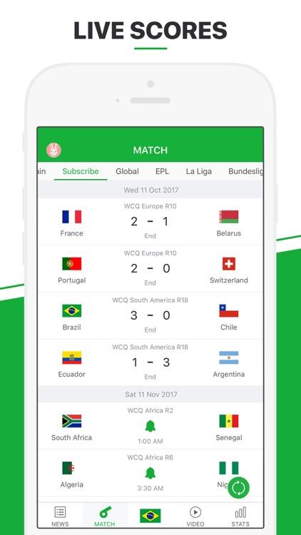 All Football - Live Score