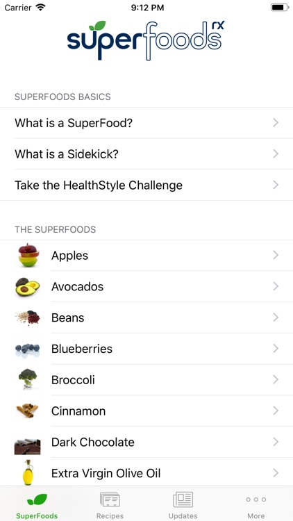 SuperFoodsRx - Essential Guide