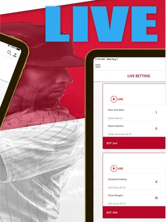 MYBOOKIE - Bet For Fun - Sports Odds & Live Scores screenshot