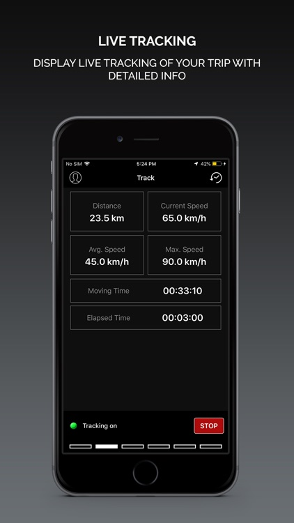Smart GPS Speedometer PRO screenshot-1