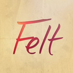 Felt: Greeting, Birthday Cards