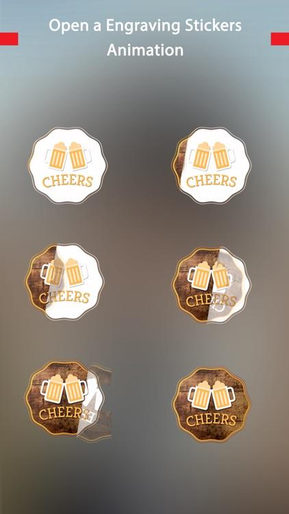 Engraving-Animated Chat Badge screenshot-3