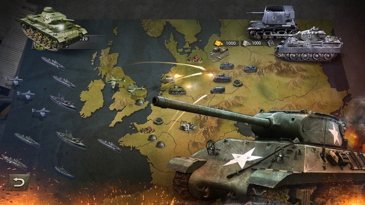 WW2: World War Strategy Games screenshot-4