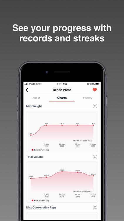 FitPal - Gym & Home Workout screenshot-4