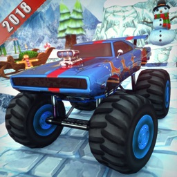 Chrismas Mountin Monster Truck