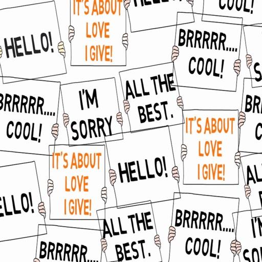 wordmoji animated stickers