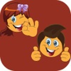 Boy and Girl Stickers Pack Reviews
