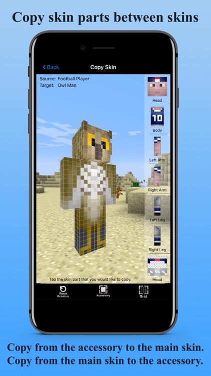Skin Creator 3D for Minecraft screenshot-5