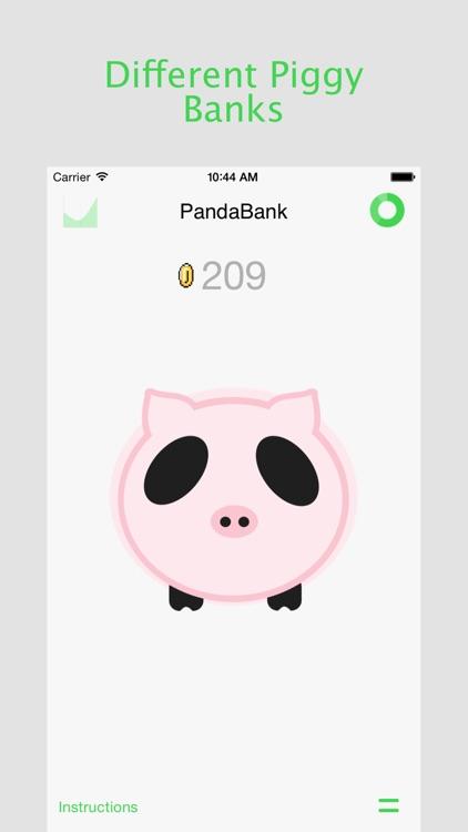 PandaBank - Piggy Bank screenshot-3