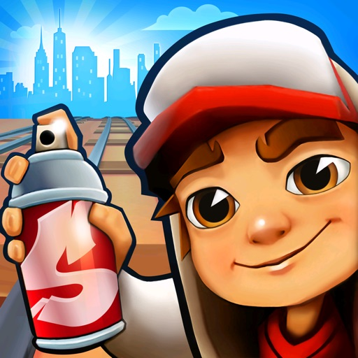Subway Surfers free software for iPhone and iPad