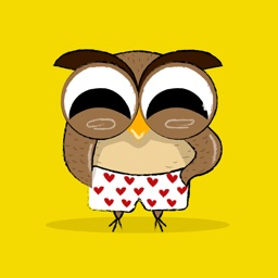 Owl Benjamin - stickers