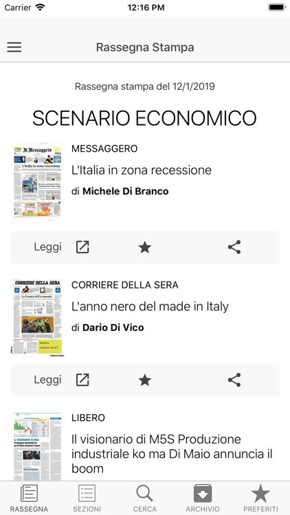 CIFA Italia screenshot-2