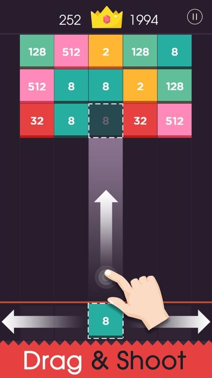Shoot 2048 - Merge Puzzle