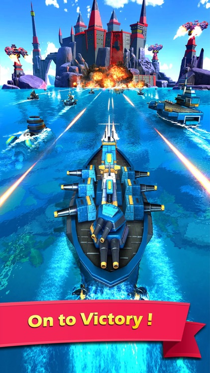 Sea Game: Mega Carrier screenshot-4