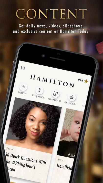 Hamilton - The Official App screenshot-5
