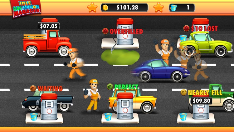 Idle Gas Station Manager screenshot-3