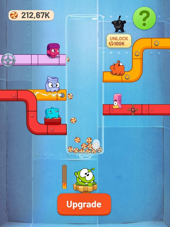 Om Nom Idle Candy Factory screenshot 5