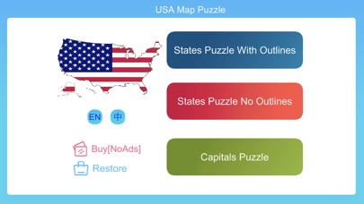 USA Map Puzzle Game | App Price Drops