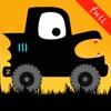 ハロウィーンの車の子供のゲーム(フル):モンスタートラック。