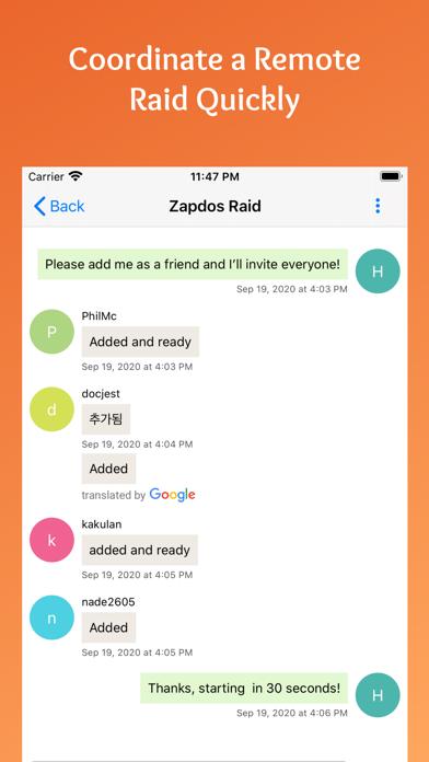 PokeRaid - Raid From Home Screenshot