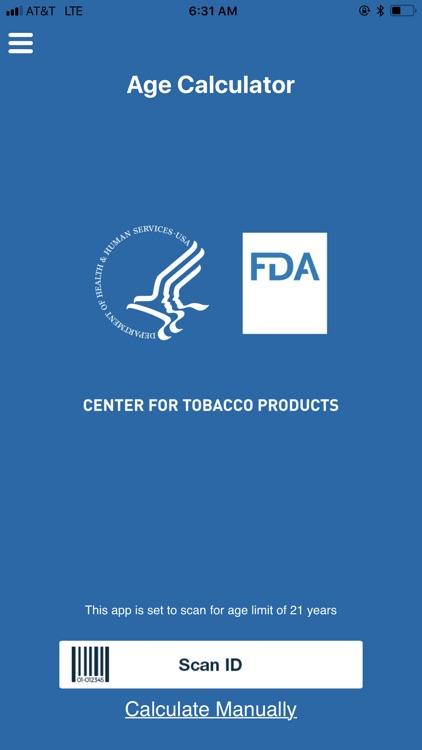 FDA Age Calculator