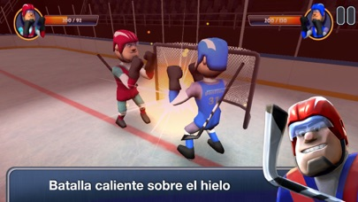 Screenshot for Hearts of Ice - Hockey War in Argentina App Store