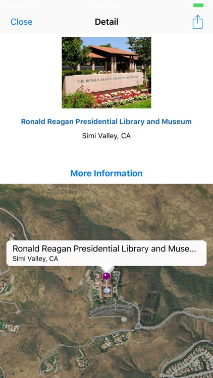 Places of our Presidents