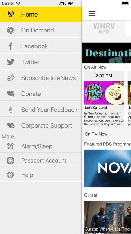 WHRO Public Media App screenshot-3