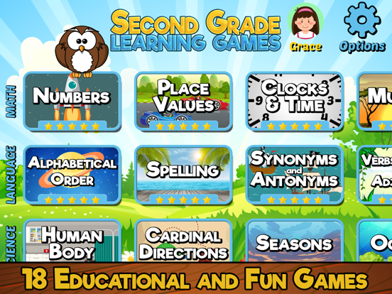 Second Grade Learning Games screenshot 6