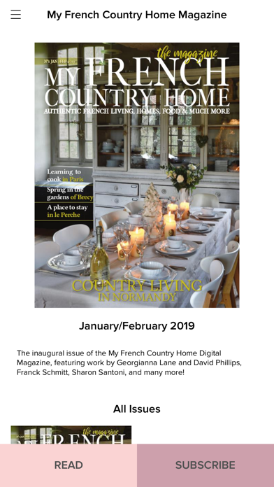 French Country Home Magazine review screenshots