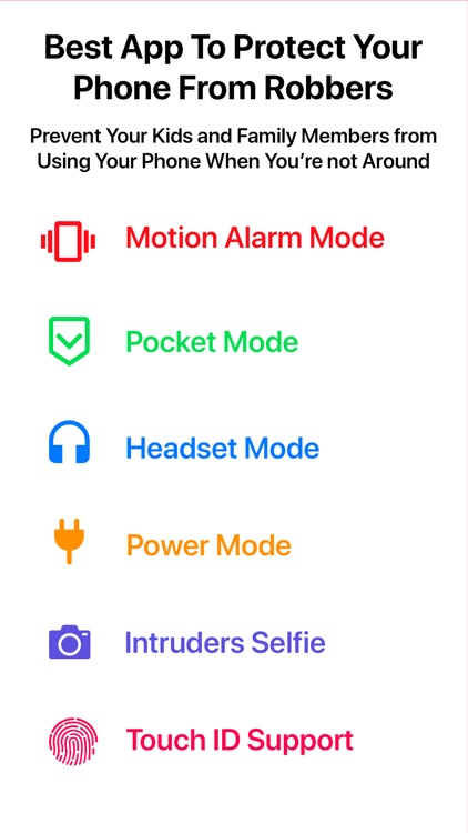 Security Alarm - AntiTheft