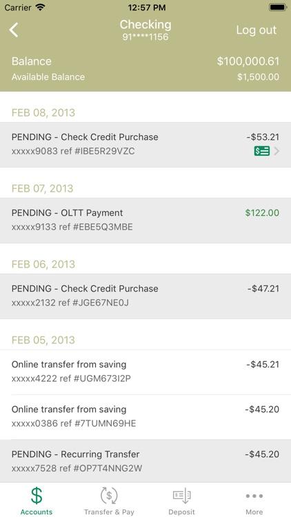 Capital Bank – Mobile Banking screenshot-3