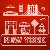 ニューヨーク 旅行 ガイド &マップ - iPhoneアプリ