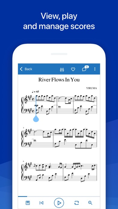MuseScore: sheet music Screenshot