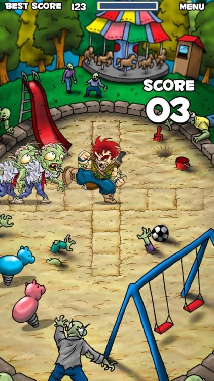 The Zombie Smasher screenshot-4