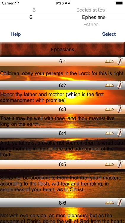 Webster Talking Bible Study screenshot-0