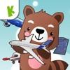 飞机百科拼图-涂色游戏