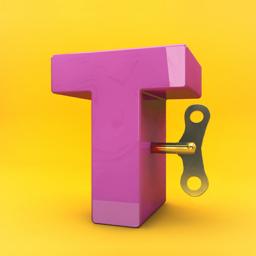 Ícone do app Typotastic! Vídeos fontes 3D