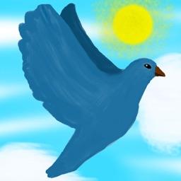 Upbeat Bird