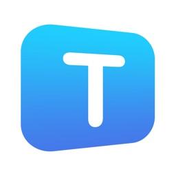 Text Widget on Home Screen