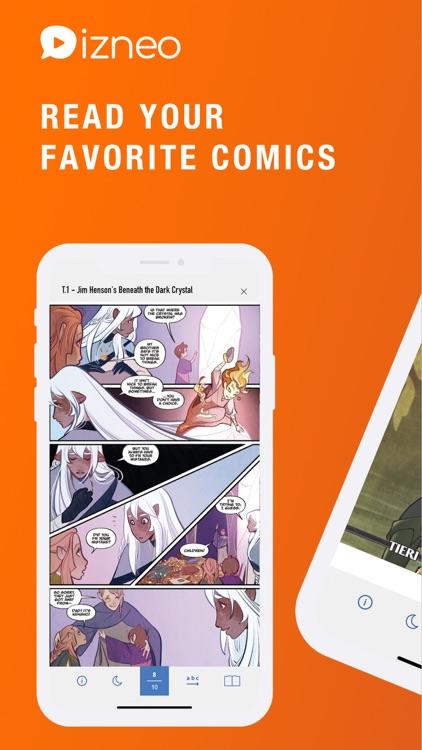 izneo: Read BD, Comics, Manga
