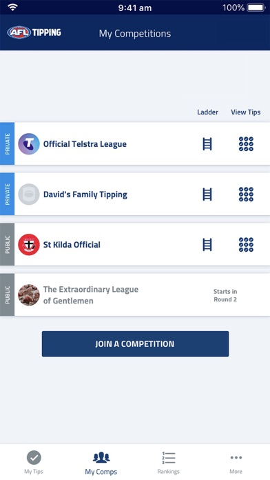 download Official AFL Tipping for PC