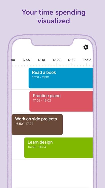 Timecap: Time & Habit tracker screenshot-5