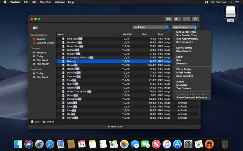 ProFind Screenshots
