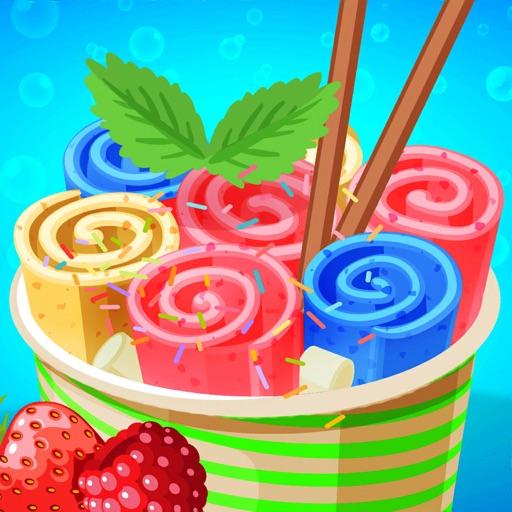 Ice Cream Rolls Maker
