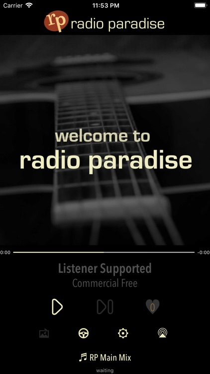 Radio Paradise screenshot-0