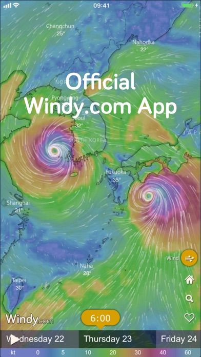 Screenshot for Windy.com in United States App Store