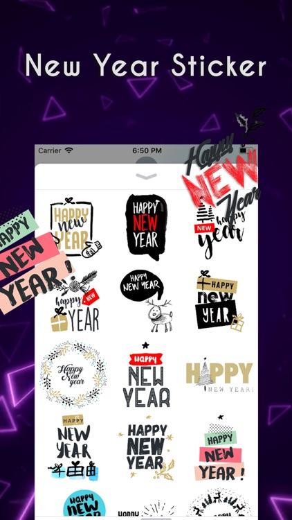 Happyy New Year Sticker