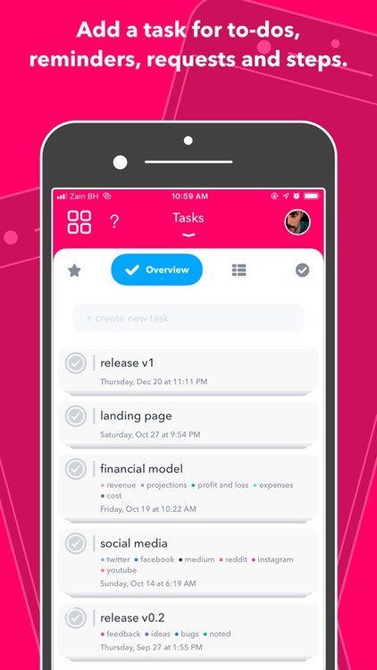 Nural - tasks, notes & chat screenshot-2