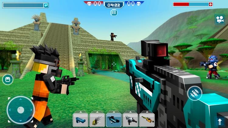 Blocky Cars - pixel shooter screenshot-3